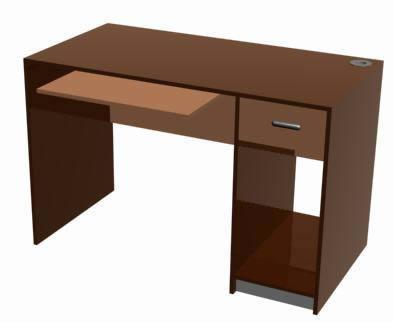 imagen Escritorio yungay 3d, en Escritorios - Muebles equipamiento