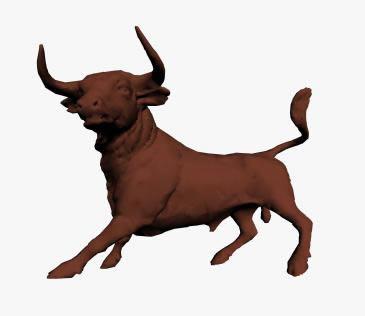 imagen Escultura de toro, en Esculturas - Varios