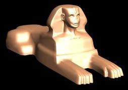 imagen Esfinge egipcia ,, en Monumentos y esculturas - Historia