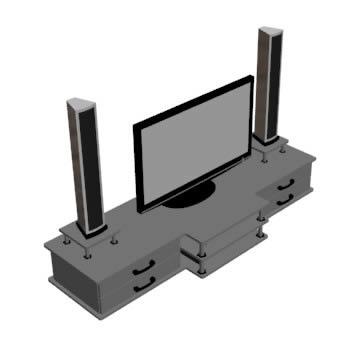 imagen Estante para tv, en Salas de estar y tv - Muebles equipamiento