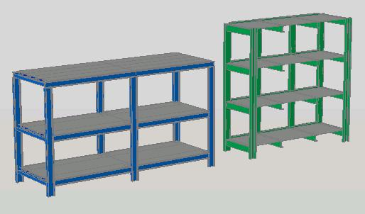 Estanter as y modulares archives p gina 14 de 18 - Dibujos de estanterias ...