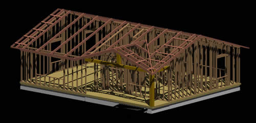 Madera t cnica tradicional archives p gina 2 de 3 - Estructura casa de madera ...