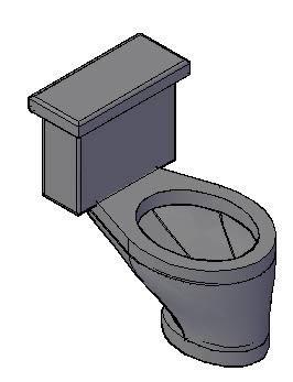 imagen Excudaso - inodoro  3d, en Inodoros 3d - Sanitarios