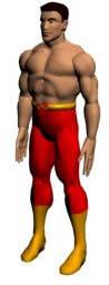 imagen Figura humana 3d, en 3d - Personas