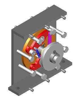 imagen Freno centrifugo 3d, en Sistemas de elevación - Instalaciones