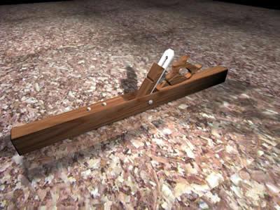 imagen Garlopa 3d, en Herramientas - Obradores