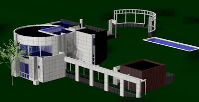 imagen Grotta house de richard meier, en Obras famosas - Proyectos
