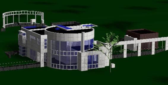 imagen Grottahouse 3d richard meier, en Obras famosas - Proyectos