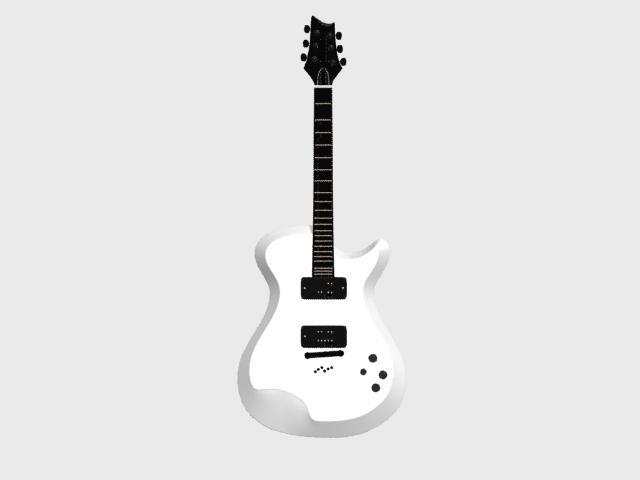 imagen Guitarra electrica xd, en Instrumentos musicales - Muebles equipamiento