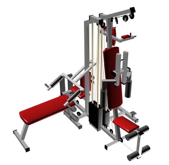 imagen Gym, en Equipamiento gimnasios - Deportes y recreación