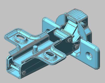 imagen Herraje para closets 3d, en Herrajes cerraduras tornillos - Aberturas