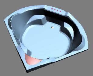 imagen Hidromasaje 3d, en Hidromasajes - Sanitarios