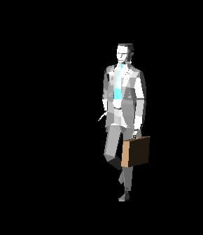 imagen Hombre 3d, en 3d - Personas