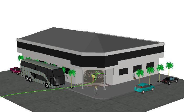 imagen Iglesia-bermejo 3d, en Arq. religiosa - Proyectos