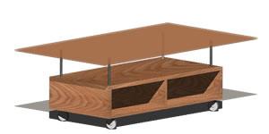 imagen Ikea - mesa de centro movil eneryda, en Escritorios - Muebles equipamiento