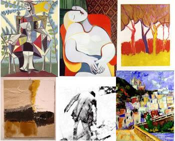 imagen Imagenes de pinturas 2, en Cuadros - Texturas