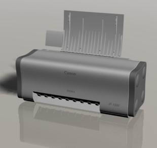 imagen Impresora canon en 3d, en Informática - Muebles equipamiento