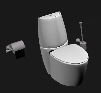 Planos de inodoro 3ds en inodoros 3d sanitarios en for Inodoro cad