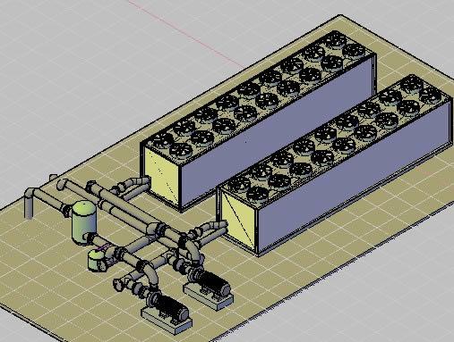 imagen Intercambiadores de calor, en Aire acondicionado - Climatización