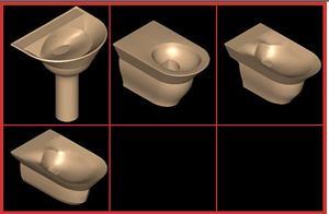 imagen .juego de baño ideal standard - kurokawa, en Juegos de baño ideal standard 3d - Sanitarios