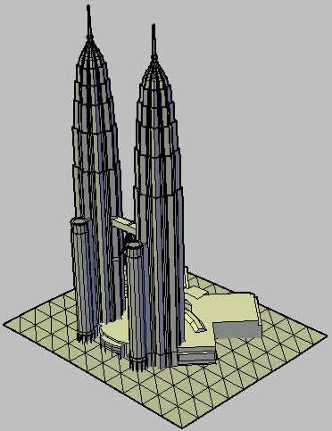 imagen Las torres petronas, en Obras famosas - Proyectos