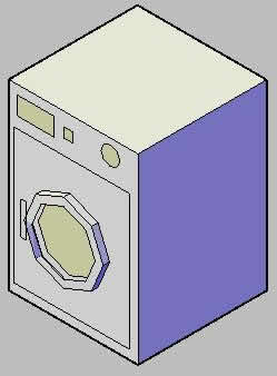 imagen Lavadora 3d, en Electrodomésticos - Muebles equipamiento