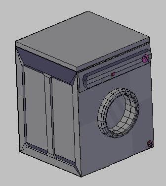 imagen Lavaropas abertura frontal 3d- lavadora 3d, en Electrodomésticos - Muebles equipamiento