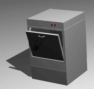 imagen Lavavajilla 3d, en Electrodomésticos - Muebles equipamiento