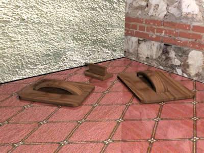 imagen Llana madera 3d, en Herramientas - Obradores
