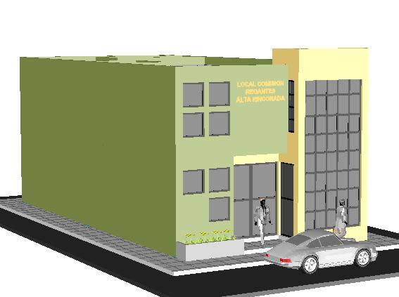imagen Local institucional, en Oficinas bancos y administración - Proyectos