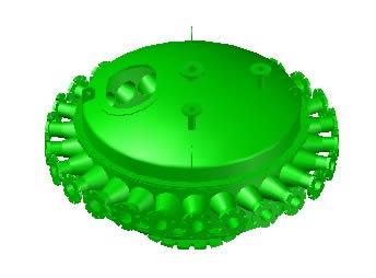 imagen Manifold bateria ciclones, en Tanques - Máquinas instalaciones