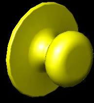 imagen Manija para puertas en 3d, en Herrajes cerraduras tornillos - Aberturas