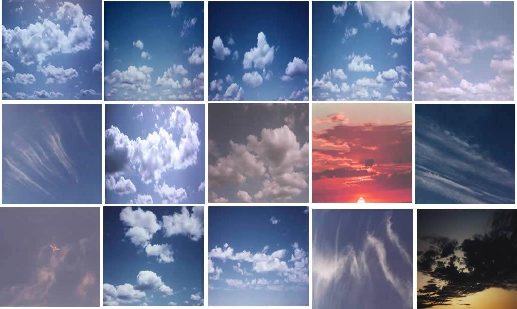 imagen Mapas de cielos, en Cielos - Objetos paisajísticos