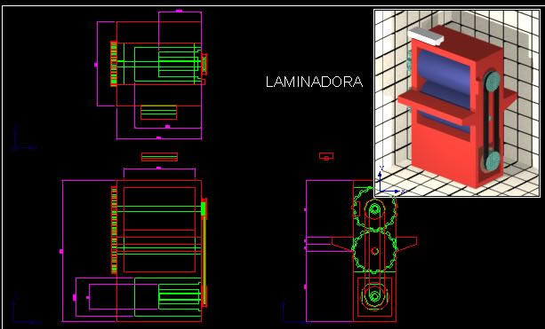 imagen Maquina laminadora, en Maquinaria e instalaciones industriales - Máquinas instalaciones