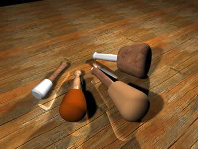 imagen Mazos 3d, en Herramientas - Obradores
