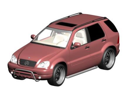 imagen Mercedes ml 430, en Automóviles en 3d - Medios de transporte