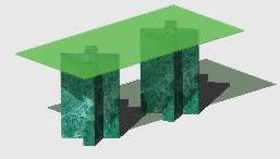 imagen Mesa 3d, en Electrodomésticos - Muebles equipamiento