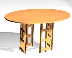 imagen Mesa  acuris 3d, en Mesas y juegos de comedor 3d - Muebles equipamiento