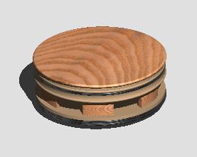 imagen Mesa de centro, en Mesas y juegos de comedor 3d - Muebles equipamiento