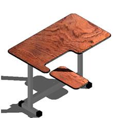 imagen Mesa de  computador, en Escritorios - Muebles equipamiento