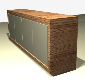 imagen Mesa de jantar com cadeira tulipa -  aparador, en Salas de estar y tv - Muebles equipamiento