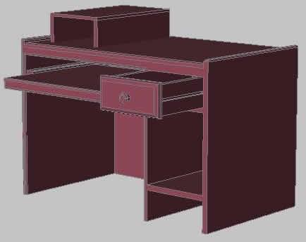 imagen Mesa de pc, en Informática - Muebles equipamiento