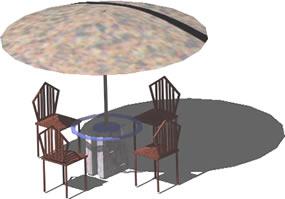 imagen Mesa en 3d, en Mesas y juegos de comedor 3d - Muebles equipamiento