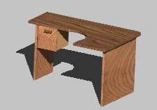 imagen Mesa escritirio/oficinas 3d, en Oficinas y laboratorios - Muebles equipamiento