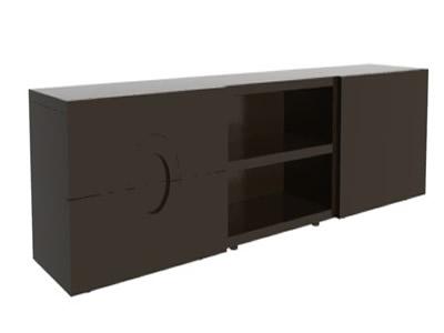 Mesa tv 3d en estanter as y modulares muebles for Muebles estanterias modulares