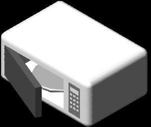imagen Microondas, en Electrodomésticos - Muebles equipamiento