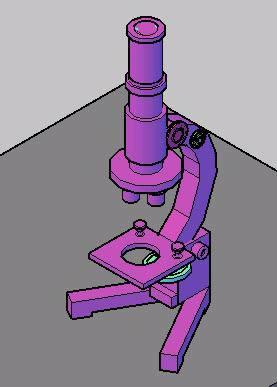 imagen Microscopio, en Oficinas y laboratorios - Muebles equipamiento