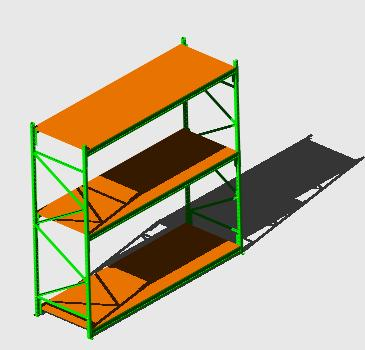imagen Mini rack 3d, en Estanterías y modulares - Muebles equipamiento