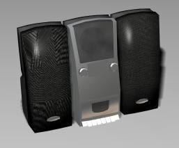 imagen Minicomponente 3d, en Salas de estar y tv - Muebles equipamiento