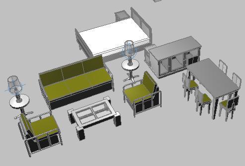 Muebles varios archives p gina 5 de 10 planos de casas for Muebles 3d autocad
